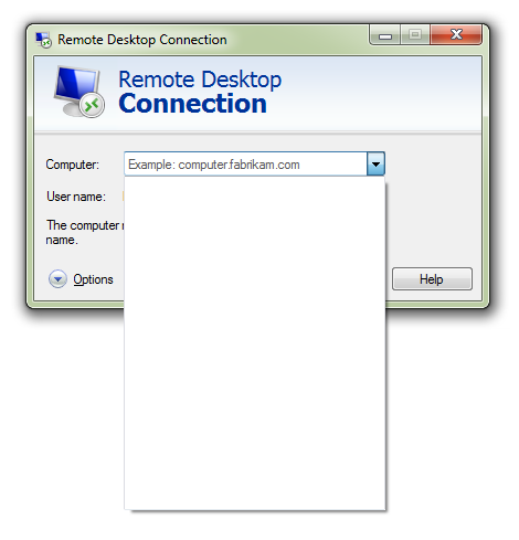 Remote Desktop History Auto Cleaner
